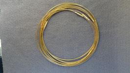 Drahtreife/ Gold od. Silber/ mehrreihig od. einreihig