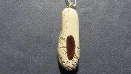 Kalkstein Kornaten mit Myrtenholz-Intarsie