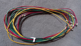 Rindsleder-Band mehrfärbig