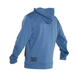 SNAP Zip Hoody(Steal Blue)