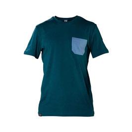 SNAP Monochrome pocket T-Shirt (Dark Blue)
