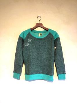 ☆SALE☆NIHIL / La Lune Sweater / FORREST GREEN / S