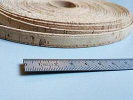 N1, LIEGE du portugal, naturel et qualité ++ ! lien plat 11 mm, collier, bracelet
