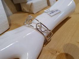 bracelet unique,  3 serpents en argent 950,