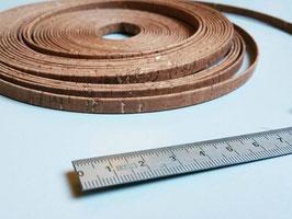 N2, LIEGE du portugal, naturel et qualité ++ ! lien plat 6 mm, brun, collier, bracelet