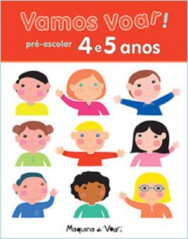 Arbeitsblätter Portugiesisch - Vamos voar! 4 - 5 Jahren