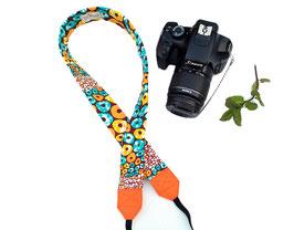Cinta càmera còdols taronja