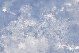 Schneekristalle, Briefkarte