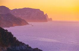Westküste von Mallorca, Briefkarte