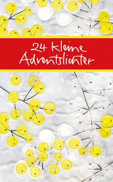 24 kleine Adventslichter - Mini-Adventskalender