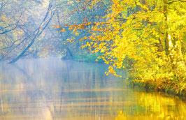 Herbst an der Böhme, Briefkarte