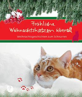 Fröhliche Weihnachtskatzen überall