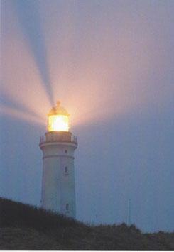 Textkarte Leuchtturm