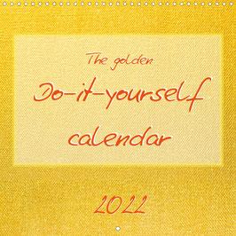 The golden Do-it-yourself calendar (2022)