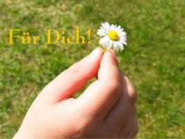 Für Dich!, Briefkarte