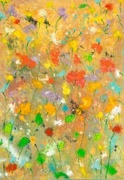 Sommerwiese, Briefkarte