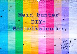 Mein bunter DIY-Bastelkalender (2022)
