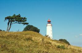 Leuchtturm Dornbusch, Hiddensee, Briefkarte