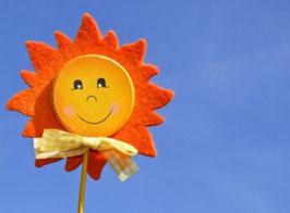 Sonne, Briefkarte