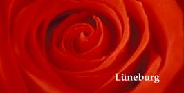 Schriftzug Lüneburg, Rose