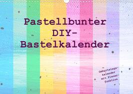 Pastellbunter DIY-Bastelkalender (2022)