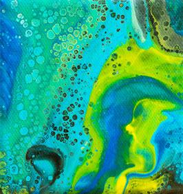 Das Meer, Briefkarte