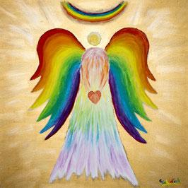 Farben-Engel, Briefkarte