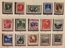 """LOT #16 COLLECTION """"Vienna"""" Volume 1: Timbres d'Allemagne, d'Autriche, du Liechtenstein et des USA dont rares"""