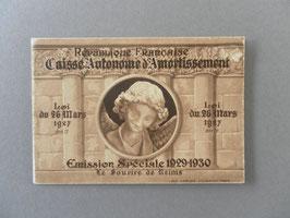 Carnet complet et intact du Sourire de Reims n°256