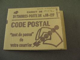 Carnet n°1815-C 2 avec un seul panneau