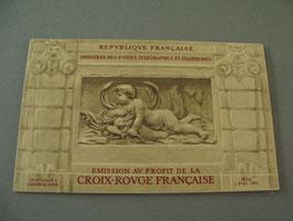 Carnet Croix-Rouge 1952