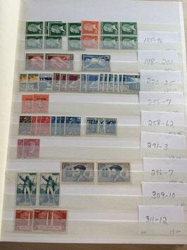 FRANCE: collection de timbres depuis les années 1920 dont fin de catalogue
