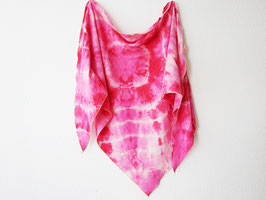 "Batik-Musselintuch ""Pink Flame"""