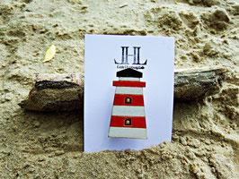 """Leuchtturm-Brosche aus Holz """"Lighthouse"""""""