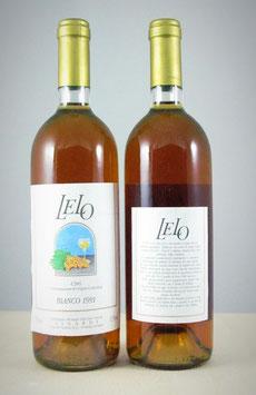 Cirò d.o.c. Bianco Lelo 1991 - Bottiglia bordolese da 750 ml - da collezione.