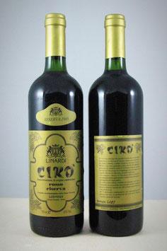 Cirò Doc Rosso Superiore Riserva 1985 - Bottiglia bordolese da 750 ml