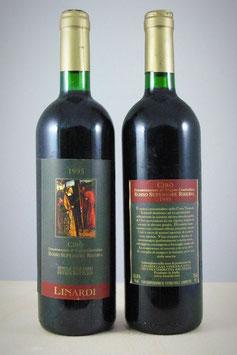 Cirò Doc Rosso Superiore Riserva 1985 Messere - Bottiglia bordolese da 750 ml.
