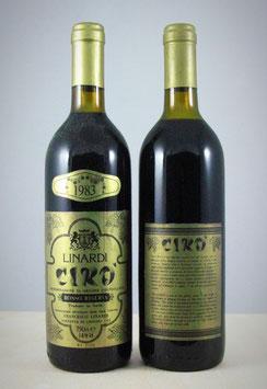 Cirò Doc Rosso Superiore Riserva 1983 - Bottiglia bordolese da 750 ml