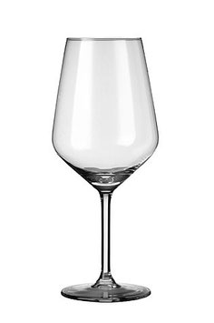 Set 6 bicchieri Carrè 53 in cristallino.