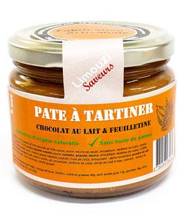 Pâte à Tartiner chocolat lait & feuilletine 300g