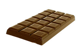 Tablettes de chocolat lait 35% 100g