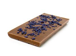 Tablettes de chocolat lait 35% violette 100g