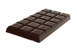 Tablettes de chocolat noir 63% 100g