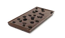 Tablettes de chocolat noir 99% sans sucre ajouté myrtille 100g