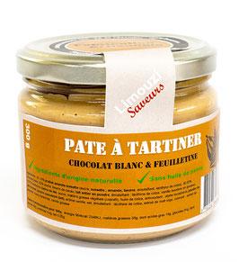 Pâte à Tartiner chocolat blanc & feuilletine 300g