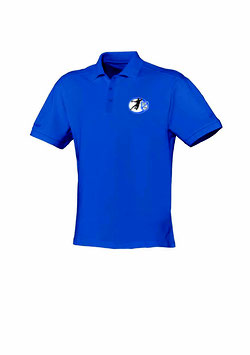 Polo-Shirt Baumwolle (Royal)