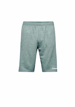 Cotton Bermuda Shorts GRAU