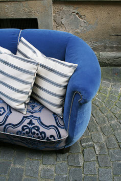 sofa BLAU GRAU | 01