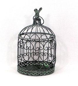 Käfig, grün, antik, rund, groß