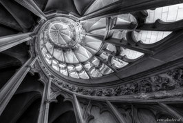 Twirly stairs zwart wit